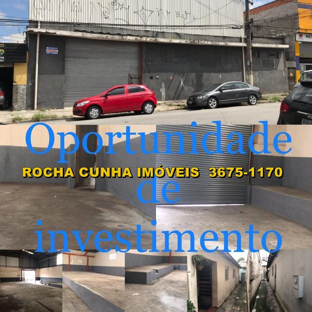Galpão 400m² à venda São Paulo,SP - R$ 1.300.000 - GALPAO0002 - 1